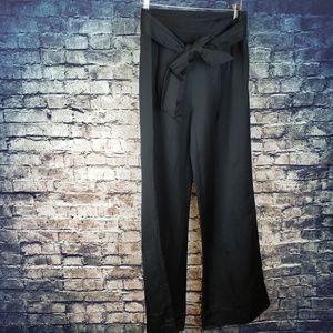 Anthropologie Elevenses Black Pants